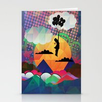 collage Stationery Cards featuring collage by mark ashkenazi