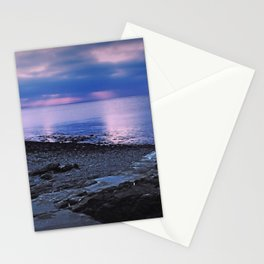 Evening sunset Stationery Cards