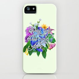 Foolish Imp iPhone Case