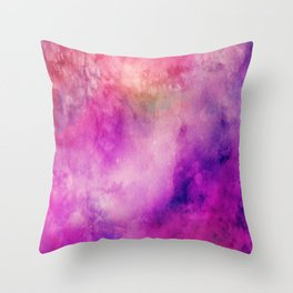 Watercolor background Throw Pillow