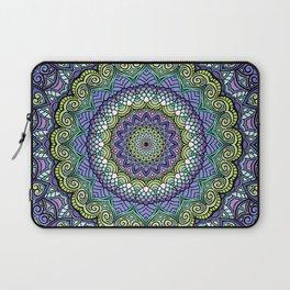 Purple n' Green Machine - Mandala Art Laptop Sleeve