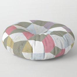 Geometric pattern Floor Pillow