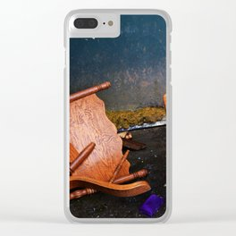 Shot in Relics Clear iPhone Case