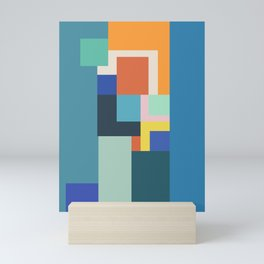 Shades of Blue Mini Art Print