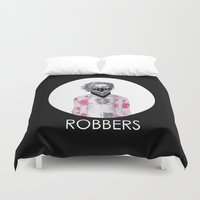 1975 Duvet Covers featuring Robbers by CamillasOfficial