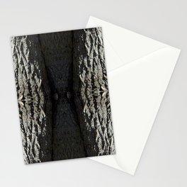 Oak Tree Bark Vertical Pattern by Debra Cortese Designs Stationery Cards