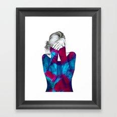 Cosmic Girl 2 Framed Art Print