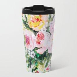 Peony bouquet Travel Mug
