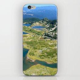seven rila lakes iPhone Skin