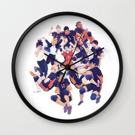 karasuno team  Wall Clock