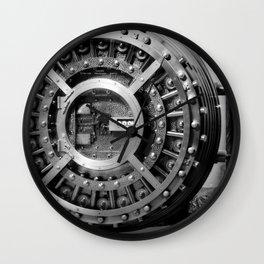 vault door Wall Clock