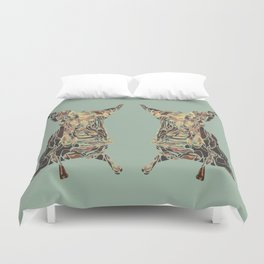 CARCASS OF BEEF: Rembrandt Refabricated Duvet Cover