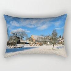 idyllic country life Rectangular Pillow