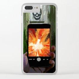 Cellar Door Clear iPhone Case