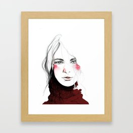 oh, Dear Framed Art Print