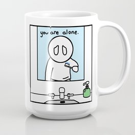Brushing Teeth Coffee Mug