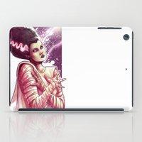 bride iPad Cases featuring BRIDE by Lorena Carvalho