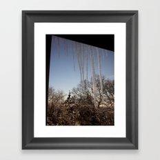 Icicles #2 Framed Art Print