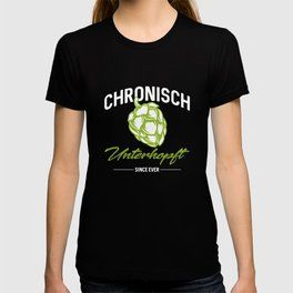 Chronically under-hops - beer, brewer T-shirt