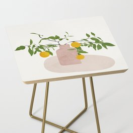 Lemon Branches Side Table