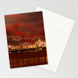 Boston Charles River Bridges Stationery Cards