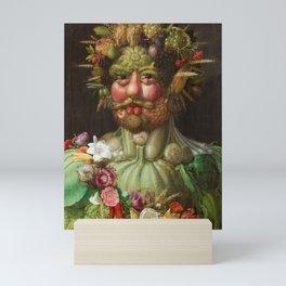 Rudolf II of Habsburg as Vertumnus Mini Art Print