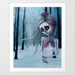 Beautiful decay of life Art Print