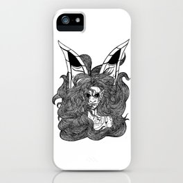 Wind Fairy with Wings of Butterfly iPhone Case