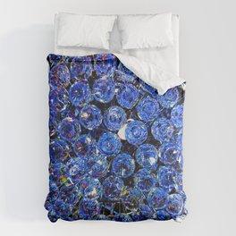 Blue Crystal Chandelier Comforters