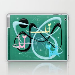 Atomic Rocket Cats In Space Laptop & iPad Skin