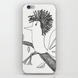 Sitting On A Tree iPhone Skin
