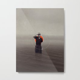 Where Have You Gone Without Me Metal Print