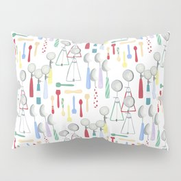 SCOOPS AND SPOONS Pillow Sham