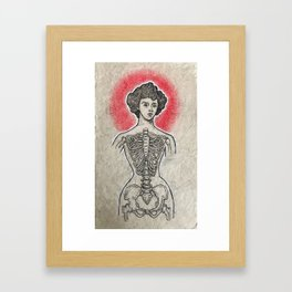 Tightlace Framed Art Print