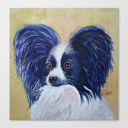 PERKY PAPILLON Canvas Print