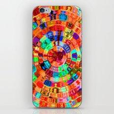 Mosaic Gems Orange iPhone & iPod Skin