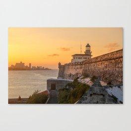 Orange Paradise Canvas Print
