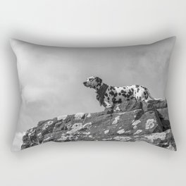 Dalmatian. Rectangular Pillow