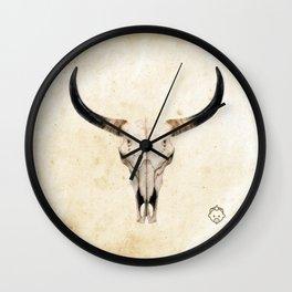 SF Skull Wall Clock