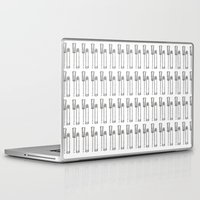 lip Laptop & iPad Skins featuring Lip Gloss by Young Clerks