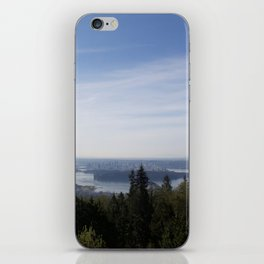 Vancouver Lookout Mount Cypress iPhone Skin