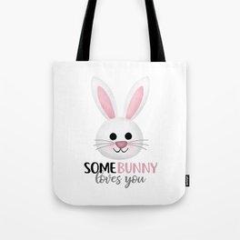 SomeBunny Loves You Tote Bag