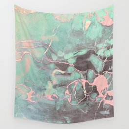 Delicate Shadow Marble Wall Tapestry