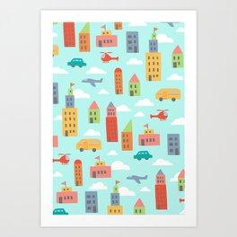 My City Art Print