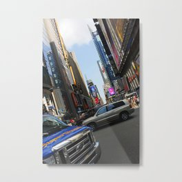 New York City Time Square NYC Metal Print