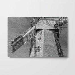 WINDMILL OF MY MIND Metal Print