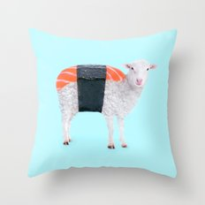 SUSHEEP Throw Pillow