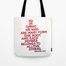 One Body Tote Bag