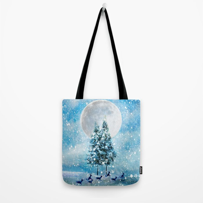 Winter Night 4 Tote Bag
