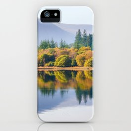 Glendalough Upper lake - Ireland (RR 172) iPhone Case